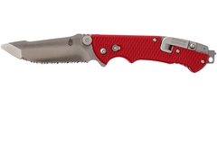Нож Gerber Hinderer Rescue Serrated Red