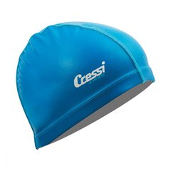 Шапочка для плавания Cressi PV Coated Blue