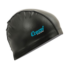 Шапочка для плавания Cressi PV Coated Black