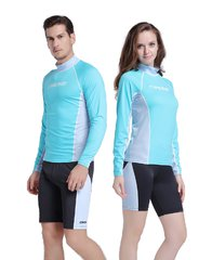 Рашгард Cressi CoolSkin Unisex Blue/Green