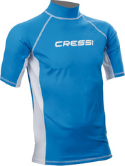 Рашгард Cressi Rash Guard Short Sleeve Magic Blue