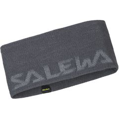 Повязка Salewa Pedroc Wool Headband серая
