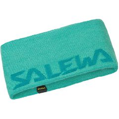 Повязка Salewa Pedroc Wool Headband зеленая