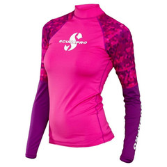Рашгард Scubapro Rash Guard Women фламинго