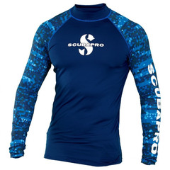 Рашгард Scubapro Rash Guard Man синяя